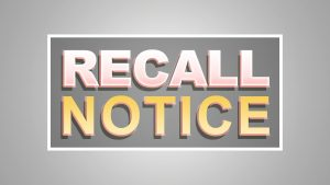 Vehicle Recall Notice